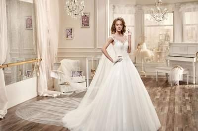 60 onvergetelijke bruidsjurken voor 2016 met volumineuze rokken: jouw unieke bruidslook!