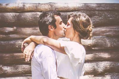 Violeta e Isra: una boda íntima llena de detalles especiales