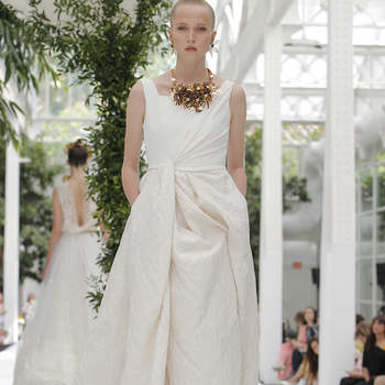 Carmen Halffter. Credits : Barcelona Bridal Fashion Week