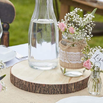 Troncos Decorativos De Madera Artificial- Compra en The Wedding Shop