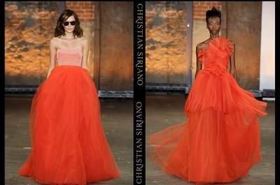 Tangerine Tango, la tendencia 2012 para las bodas en primavera