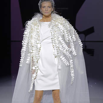 Photo : Isabel Zapardiez, Barcelona Bridal Fashion Week