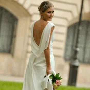 Robe de mariée Diane, vue de dos - Crédit photo: Catherine Varnier