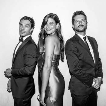 Carolina Loureiro, José Mata e Afonso Pimentel | Foto IG @caroloureiro