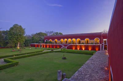 Hacienda Temozon, un cadre luxueux parfait pour profiter de la nature pour votre mariage au Mexique