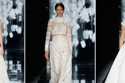 ¿Conoces los vestidos de novia Crop Tops? ¡Lo último en tendencias!