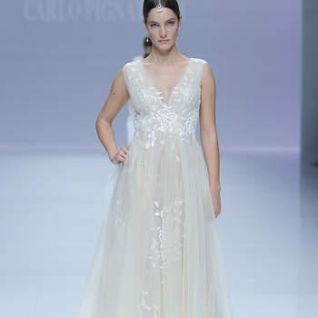 Carlo Pignatelli.. Créditos: Barcelona Bridal Fashion Week