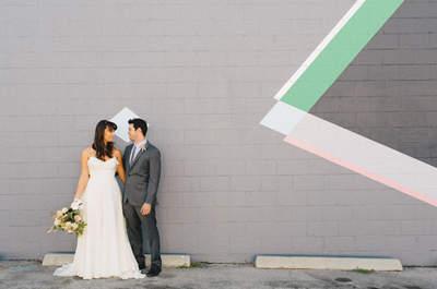 Ispirati alla geometria per le decorazioni del tuo matrimonio!