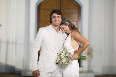 Casamento Boho Country Chic de Giana e Jonathan: íntimo, lindo e feito com muito amor no interior do RS