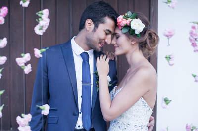 Romanticismo en todo su esplendor: La boda de Ana y Sebastián