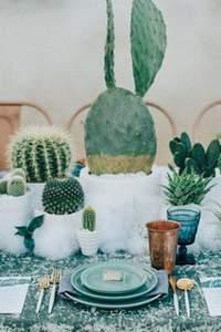 Decoreer je bruiloft met cactussen