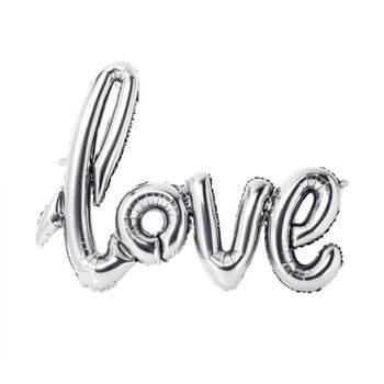Globo love plata- Compra en The Wedding Shop