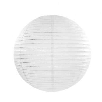 Esfera de papel para iluminar blanco de 35cm - Compra en The Wedding Shop