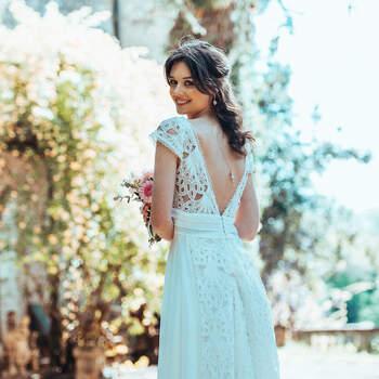 Photo : Guillaume Gilles - Elsa Gary, robe de mariée Passion