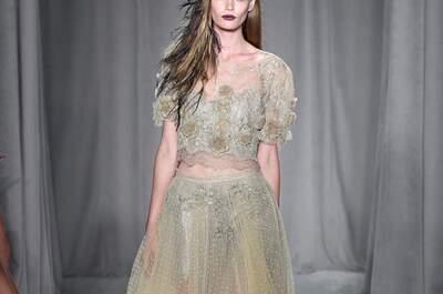 Vestidos de novia fuera de serie: La propuesta boho chic de Marchesa que nos tiene obsesionadas