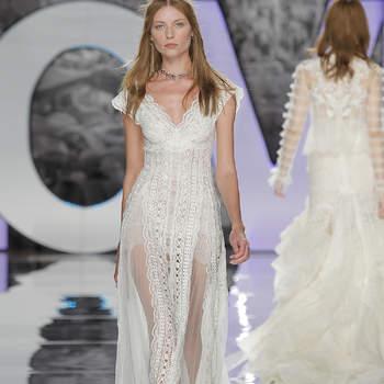 Zauberhafte Brautkleider mit V-Ausschnitt: Dieses Dekolleté ist einfach zeitlos
