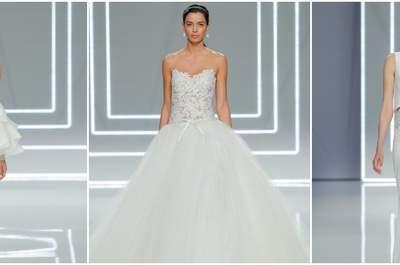 Sfilata Rosa Clará 2017: eleganza e modernità a portata di sposa