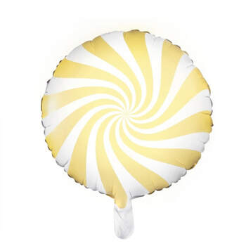 Globo Candy Amarillo- Compra en The Wedding Shop