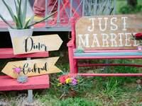 Décoration de chaises de mariage 2017