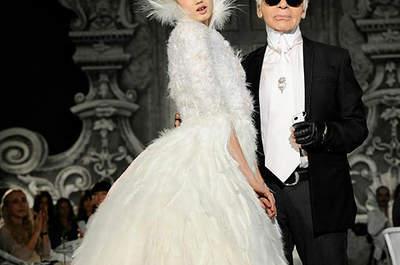 Vestido de novia de Chanel Alta Costura, colección otoño-invierno 2012-2013. Foto: Chanel