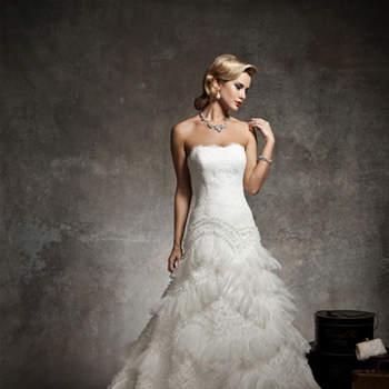 Vestido de noiva Justin Alexander 2013: do clássico ao moderno.
