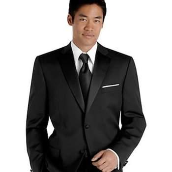 Foto de Traje formal negro Sean Jonh para novio,$179.99USD