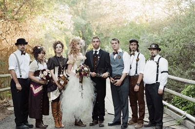 Conoce la tendencia steampunk para bodas 2013
