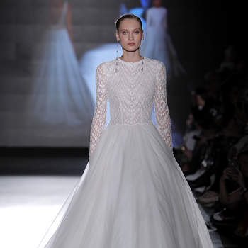 Rosa Clará. Credits_ Barcelona Bridal Fashion Week(6)
