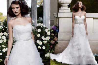 Vestidos com faixa na cintura: um detalhe poderoso para seu look de noiva