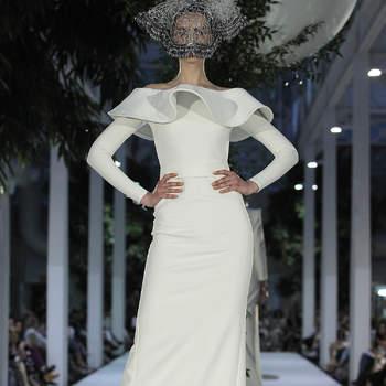 Robero Diz. Credits: Barcelona Bridal Fashion Week