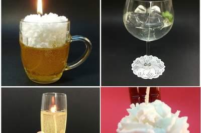 Platt Regalos: velas hechas a mano y personalizadas para tus invitados de boda