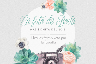 ¡Vota por tu foto de boda favorita del 2015!