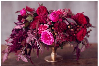Ideas para tener una boda inspirada en frutos rojos