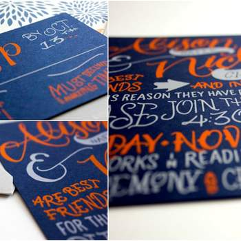 Credits: Calligraphy: Oh So Beautiful Paper; Photography: Faye + Co