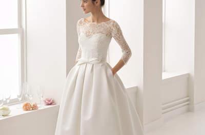 Vestidos de novia con bolsillos: ¡Únete a las últimas tendencias!