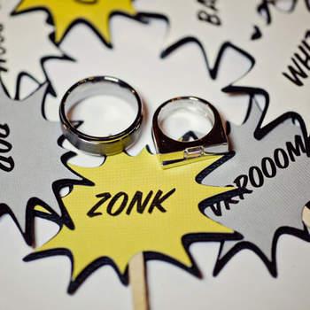 Décoration amusante et fantaisiste pour votre mariage. Photo : Green Wedding Shoes