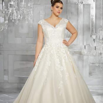 09050fe44d4e78 Suknie ślubne dla puszystych Panien Młodych! Najlepsze kroje!