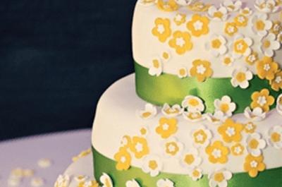 Una boda en blanco, amarillo y verde inspirada en el Mundial