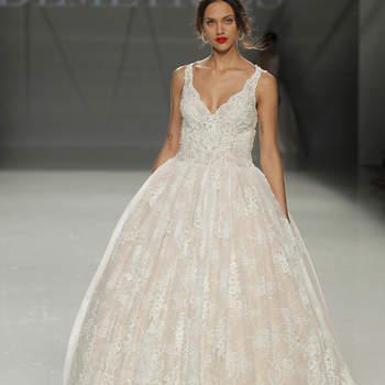 Foto: Demetrios. Credits_ Barcelona Bridal Fashion Week
