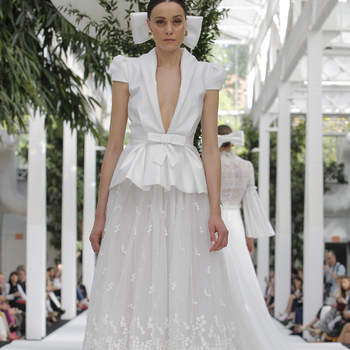 María Barragán. Credits: Barcelona Bridal Fashion Week