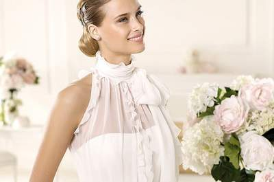 Frühlingserwachen: 5 schöne Brautkleider für die Frühlingshochzeit 2013!
