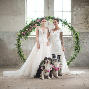 Styled Wedding Shoot: Blushing Vibes   Foto: Belinda Fotografie