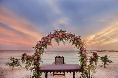 Декор свадьбы на пляже 2017! Самый счастливый день в вашей жизни в настоящем раю!