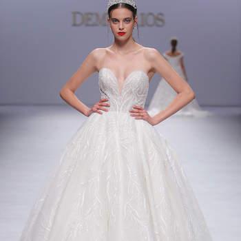 Demetrios. Credits: Valmont Barcelona Bridal Fashion Week