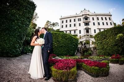 Dal Giappone con Amore: il matrimonio di Elaine e Jerome sul Lago di Como