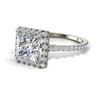Photo : Diamants et Carats - Modèle : Camogli princesse
