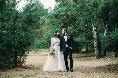 Лесная сказка: свадебная съемка Алексея и Валерии