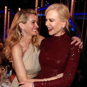 Nicole Kidman e Julia Roberts via Instagram