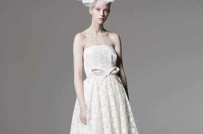 Robes de mariée Max Mara 2016 : Une collection sage pour une mariée glamour