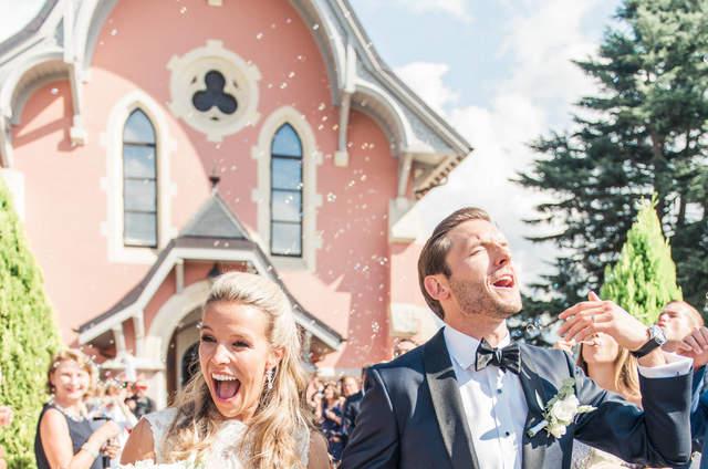 Die Zauberhafte Hochzeit Von Chantal & Daniel Auf Schloss